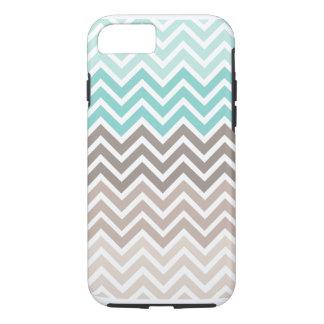 Esquema de color de la playa de Chevron Funda iPhone 7