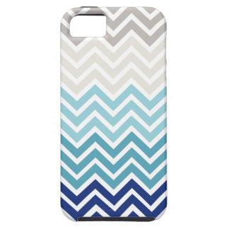Esquema de color náutico de Chevron Funda Para iPhone SE/5/5s