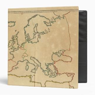 """Esquema de Europa Carpeta 1 1/2"""""""