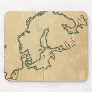 Esquema de Europa Mousepads