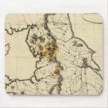 Esquema de Inglaterra, País de Gales Tapetes De Ratones