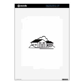 Esquema de la casa skins para iPad 2