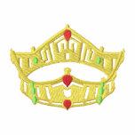 Esquema de la corona sudadera con serigrafía