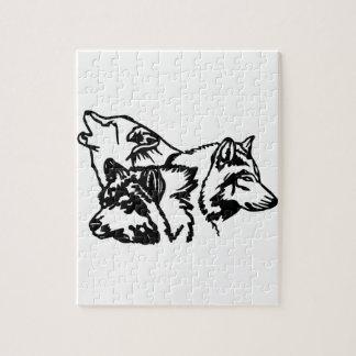 Esquema de la manada de lobos puzzles