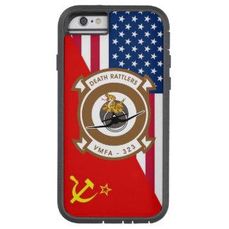 """Esquema de la pintura de la """"guerra fría"""" de funda para  iPhone 6 tough xtreme"""