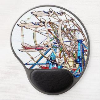 Esquema de la Rueda-Tiza de Ferris Alfombrillas De Raton Con Gel