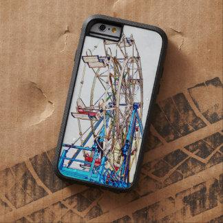 Esquema de la Rueda-Tiza de Ferris de Shirley Funda Tough Xtreme iPhone 6