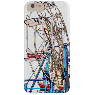 Esquema de la Rueda-Tiza de Ferris Funda De iPhone 6 Plus Barely There