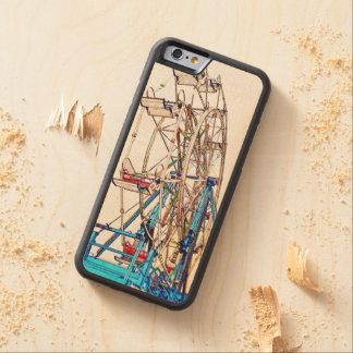 Esquema de la Rueda-Tiza de Ferris Funda De iPhone 6 Bumper Arce