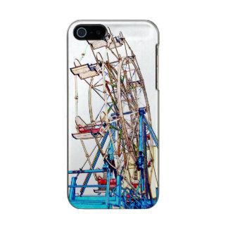 Esquema de la Rueda-Tiza de Ferris Funda Para iPhone 5 Incipio Feather Shine