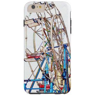 Esquema de la Rueda-Tiza de Ferris Funda Para iPhone 6 Plus Tough