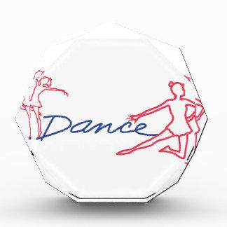 Esquema de los bailarines