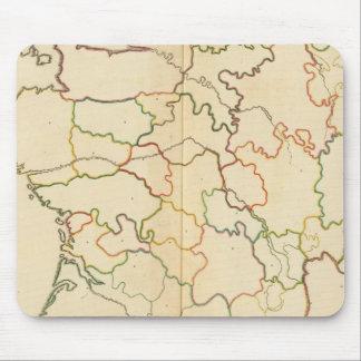 Esquema de los ríos de Francia Tapete De Raton