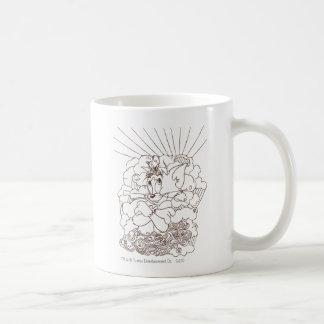 Esquema de Tom y Jerry Taza De Café