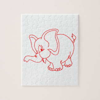 Esquema del elefante puzzle