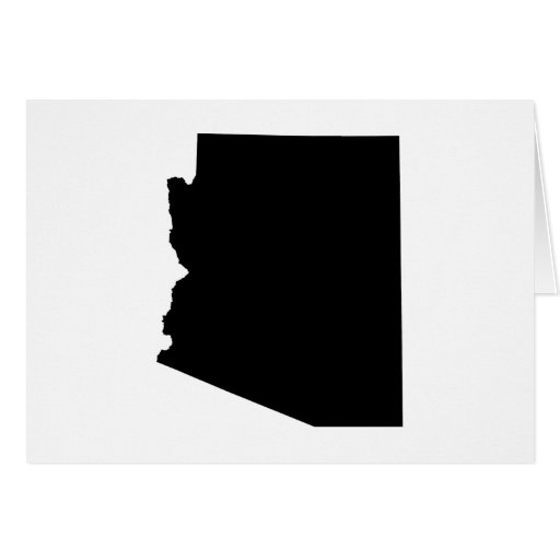 Esquema del estado de Arizona Felicitaciones