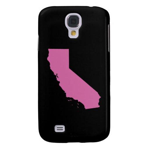 Esquema del estado de California Funda Para Galaxy S4