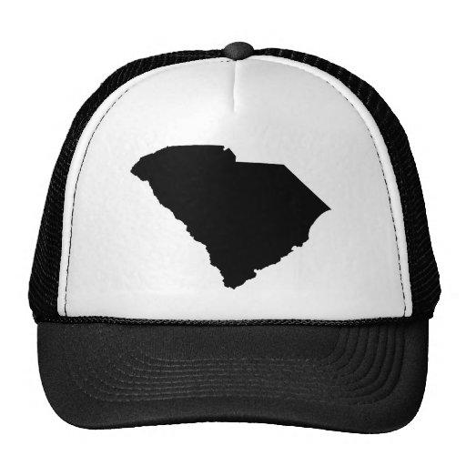 Esquema del estado de Carolina del Sur Gorros Bordados