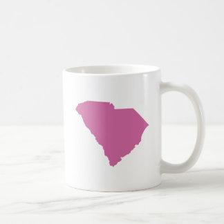Esquema del estado de Carolina del Sur Taza De Café