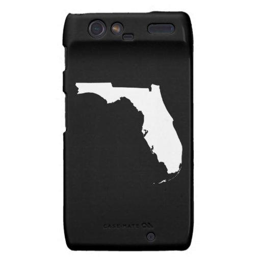 Esquema del estado de la Florida Droid RAZR Fundas