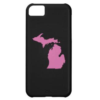 Esquema del estado de Michigan Funda Para iPhone 5C