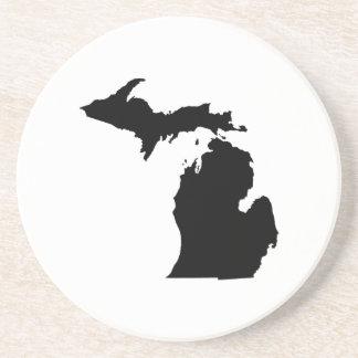 Esquema del estado de Michigan Posavasos Diseño