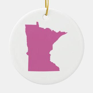 Esquema del estado de Minnesota Ornamente De Reyes
