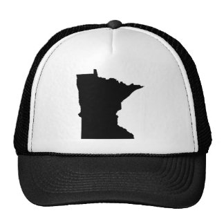 Esquema del estado de Minnesota Gorras De Camionero
