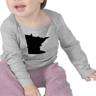 Esquema del estado de Minnesota Camiseta