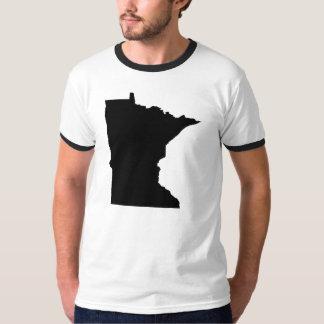 Esquema del estado de Minnesota Playeras