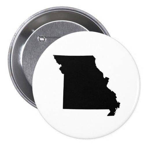 Esquema del estado de Missouri Pins