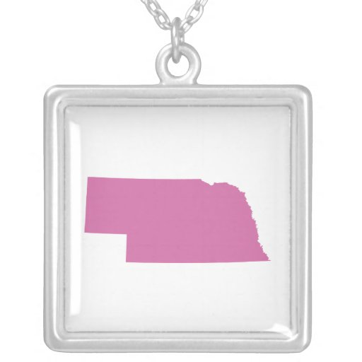 Esquema del estado de Nebraska Pendiente Personalizado