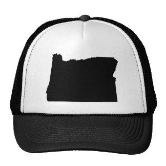 Esquema del estado de Oregon Gorras De Camionero