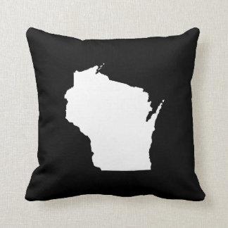 Esquema del estado de Wisconsin Cojín