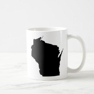 Esquema del estado de Wisconsin Taza