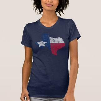 Esquema del estado del vintage de la bandera de tee shirts
