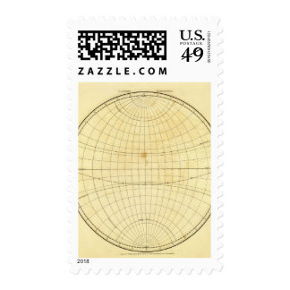 Esquema del hemisferio del este sellos