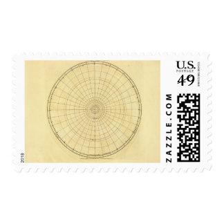 Esquema del hemisferio norte sellos