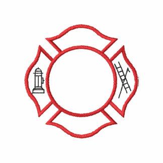 Esquema del logotipo del fuego camiseta polo