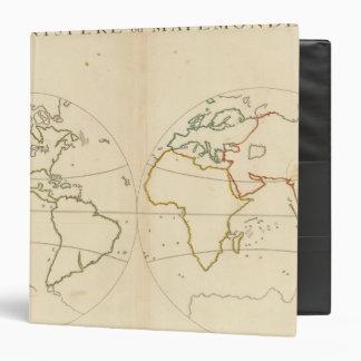 Esquema del mapa del mundo