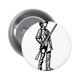 Esquema del Minuteman Pin Redondo 5 Cm
