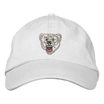 Esquema del oso gorras de béisbol bordadas