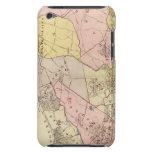 Esquema, mapa de índice el condado de Westchester iPod Touch Case-Mate Protector
