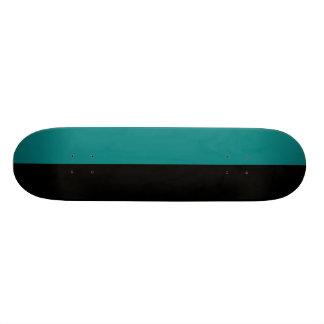 Esquema partido del negro y de color del trullo tablas de patinar