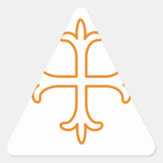 Esquema Pegatina Triangular