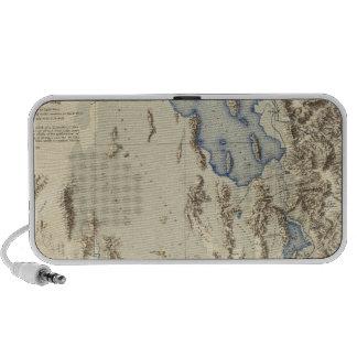 Esquema restaurado del lago Bonneville Laptop Altavoces