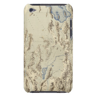Esquema restaurado del lago Bonneville Case-Mate iPod Touch Cobertura