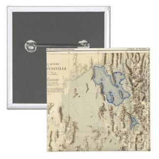 Esquema restaurado del lago Bonneville Pins