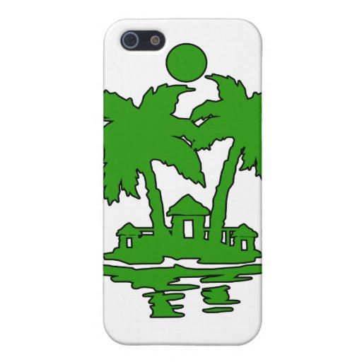 esquema verde invert.png de las casas de isla de l iPhone 5 carcasa