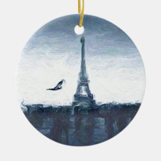 Esquemas de Eifel Adorno Redondo De Cerámica